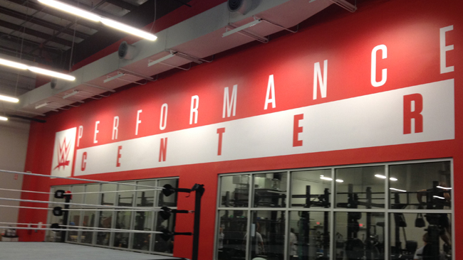 WWE Performance Center Tour
