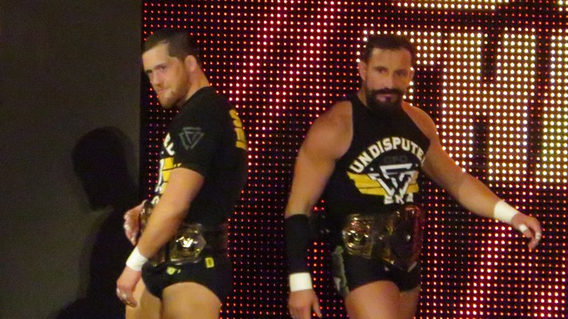 The Undisputed Era's Kyle O'Reilly and Bobby Fish