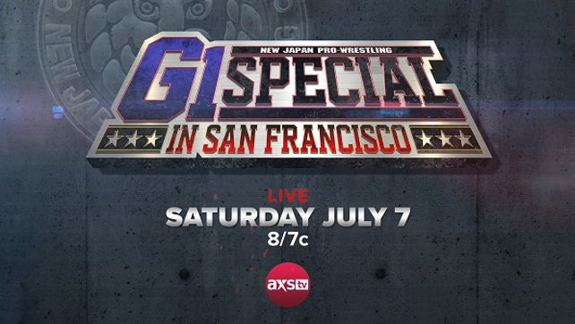 Major Title Change At G1 Special In San Francisco