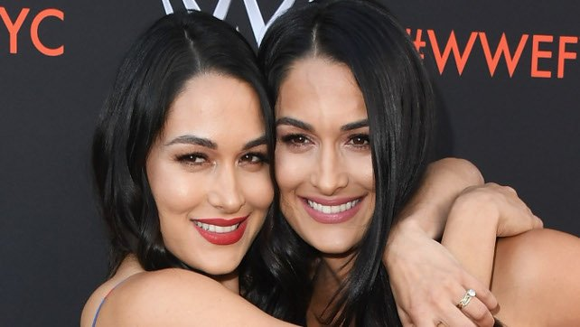 Bella Twins Celebrate After Women's Battle Royale, Fallah Bahh Tucks KM Into Bed (Video)