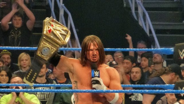Who Does AJ Styles Join In The '300-Day Club' Of WWE Champions?
