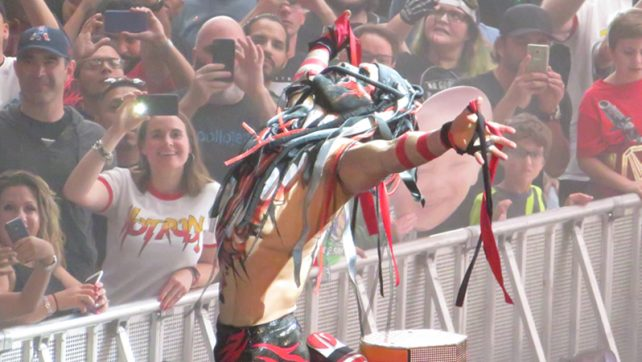 Finn Balor And Mick Foley Share A 'Too Sweet' Moment (PHOTO), Lio Rush Calls Bobby Lashley (VIDEO)