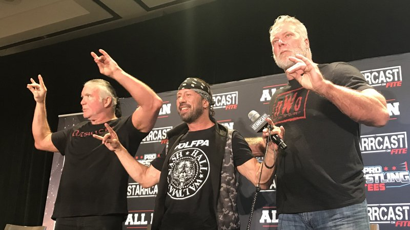 Scott Hall Kevin Nash Sean Waltman nwo