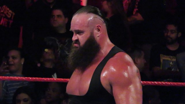 Braun Strowman Suffers A Shattered Elbow On WWE Raw