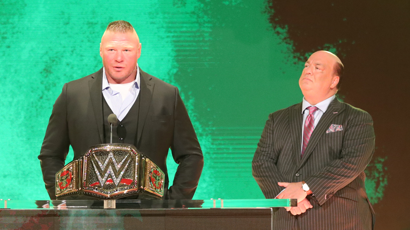 Brock Lesnar, Paul Heyman