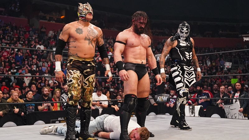 Death Triangle PAC Lucha Bros