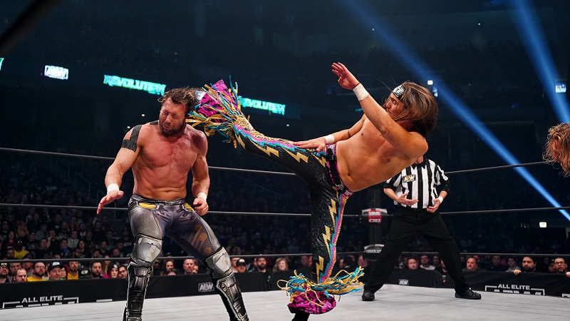Young Bucks AEW Revolution