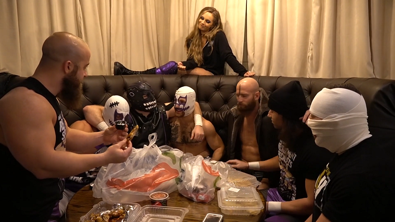 AEW Being The Elite Dark Order Thanksgiving