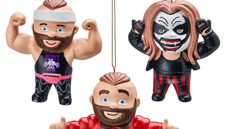 The Fiend Christmas Ornaments