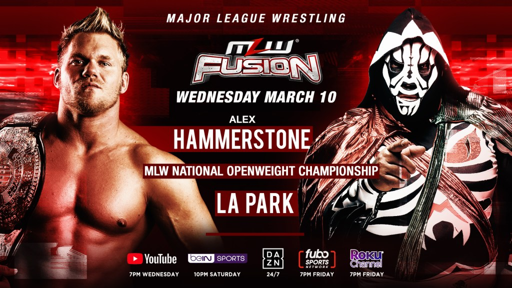 MLW Fusion title match 3/10