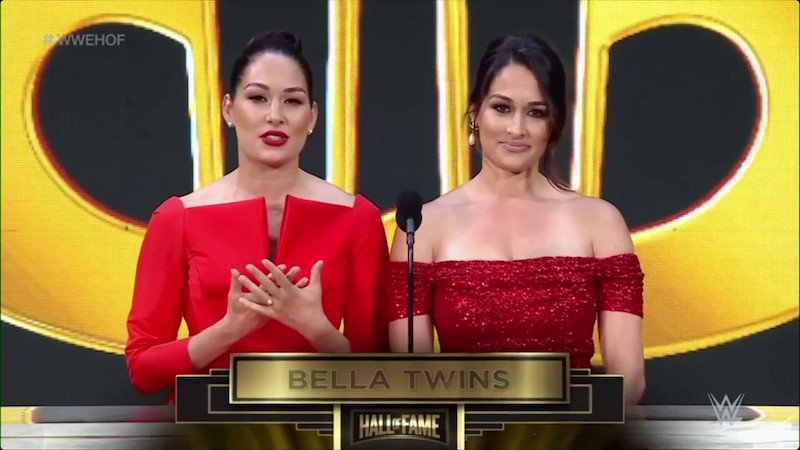 Bella Twins Hall Of Fame