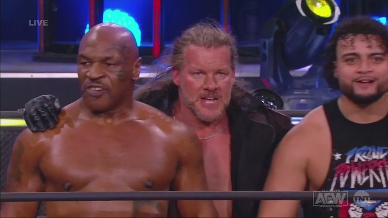 Mike Tyson Chris Jericho