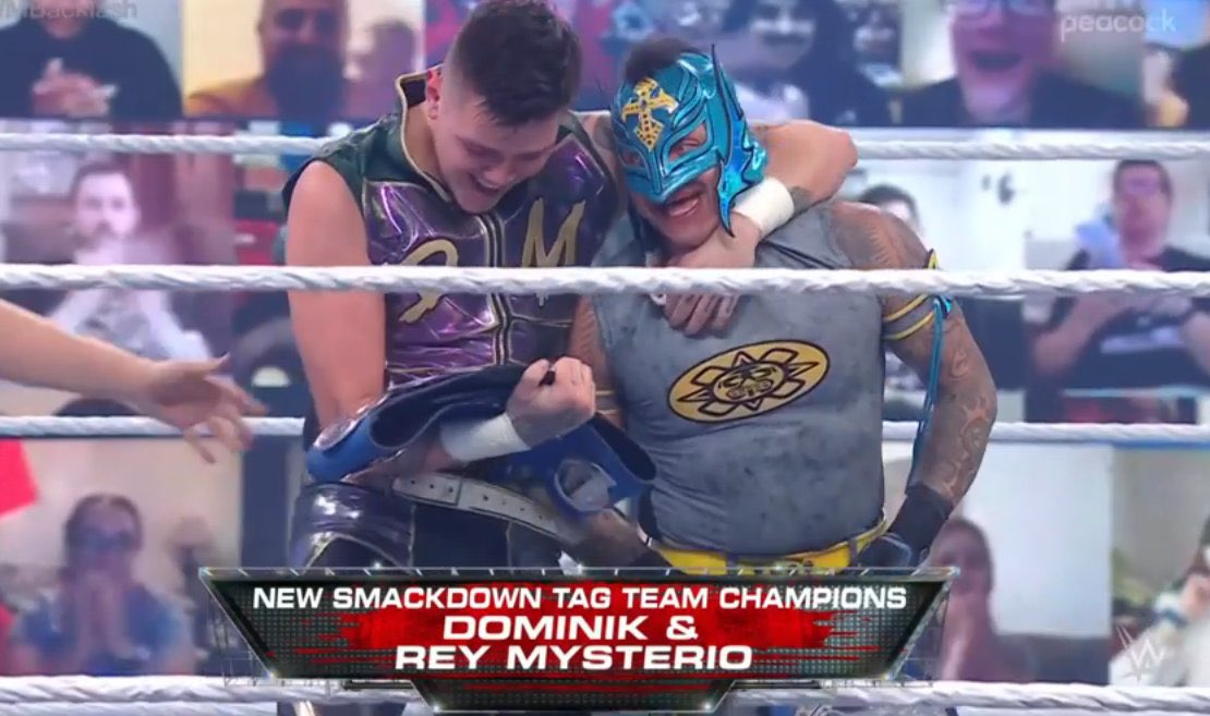 The Mysterios WWE