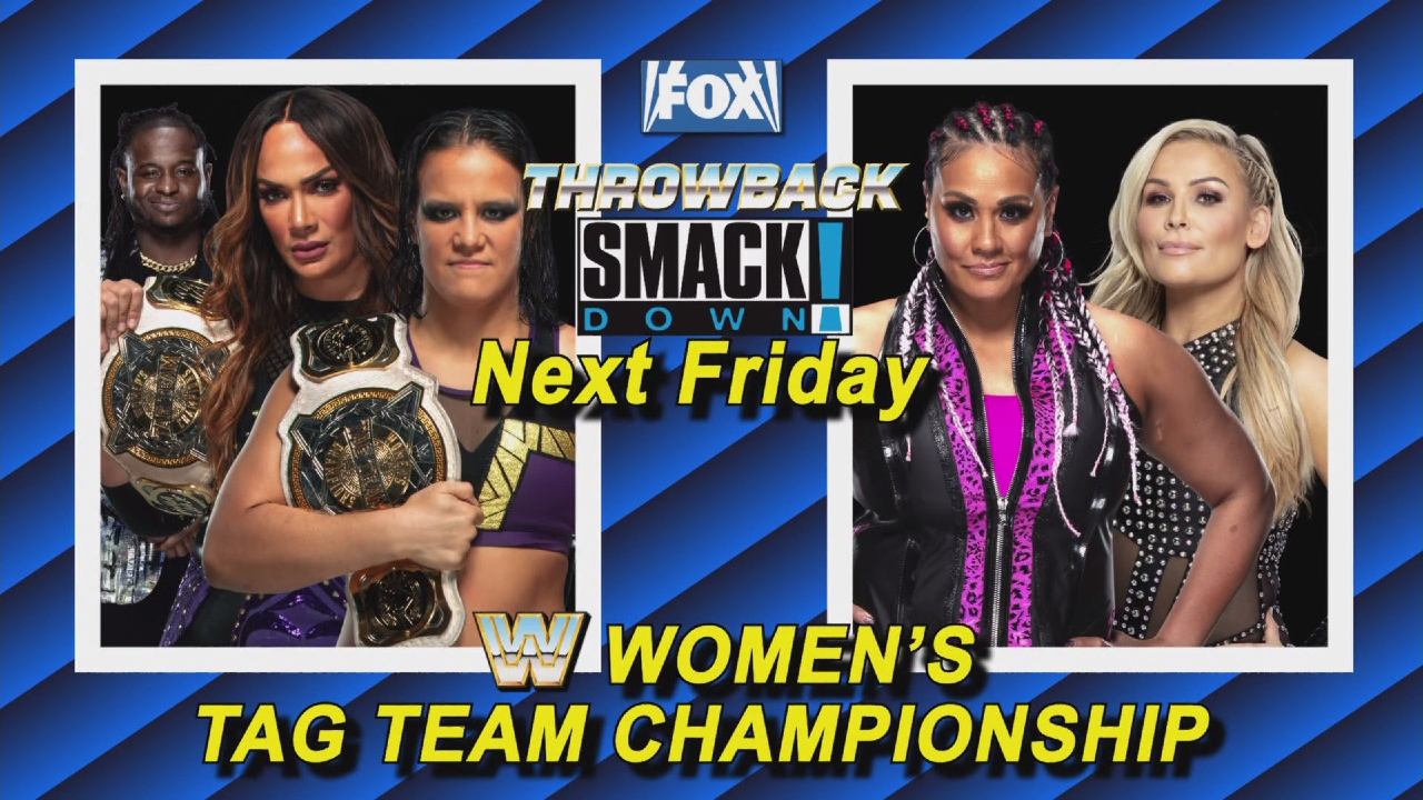 womens tag titles SmackDown