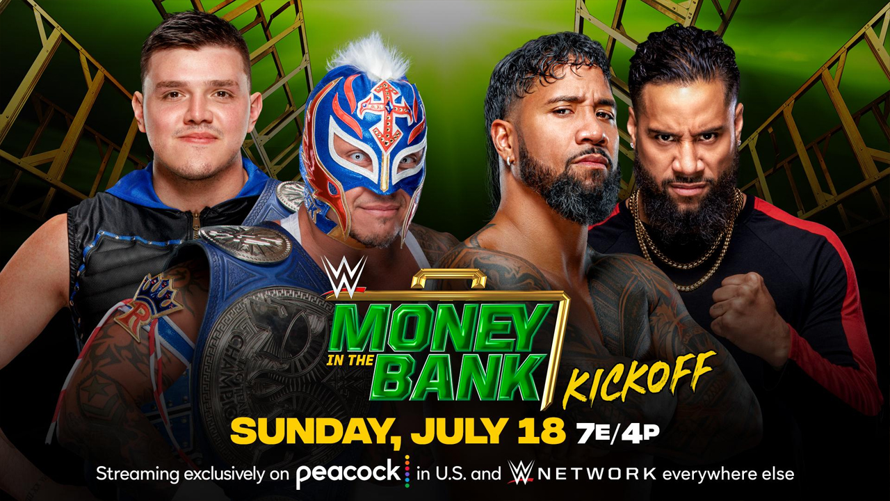 wwe money in the bank the usos rey mysterio dominik