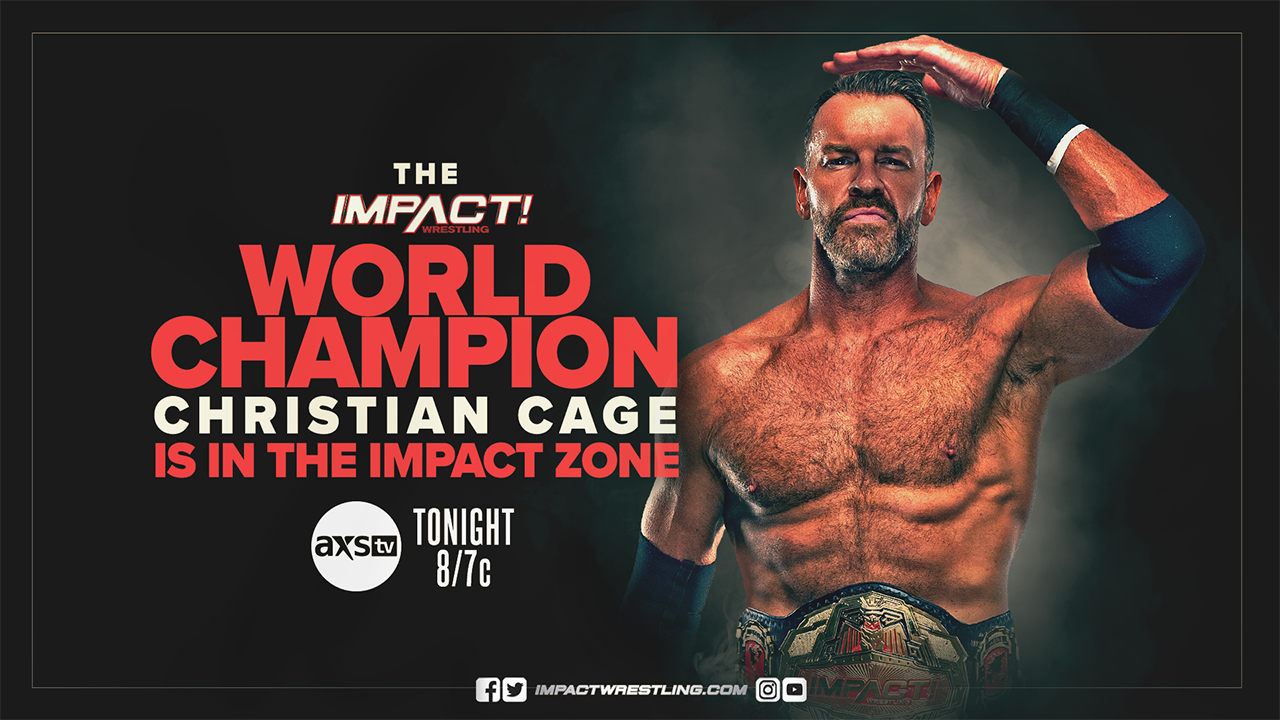 Christian Cage IMPACT Wrestling