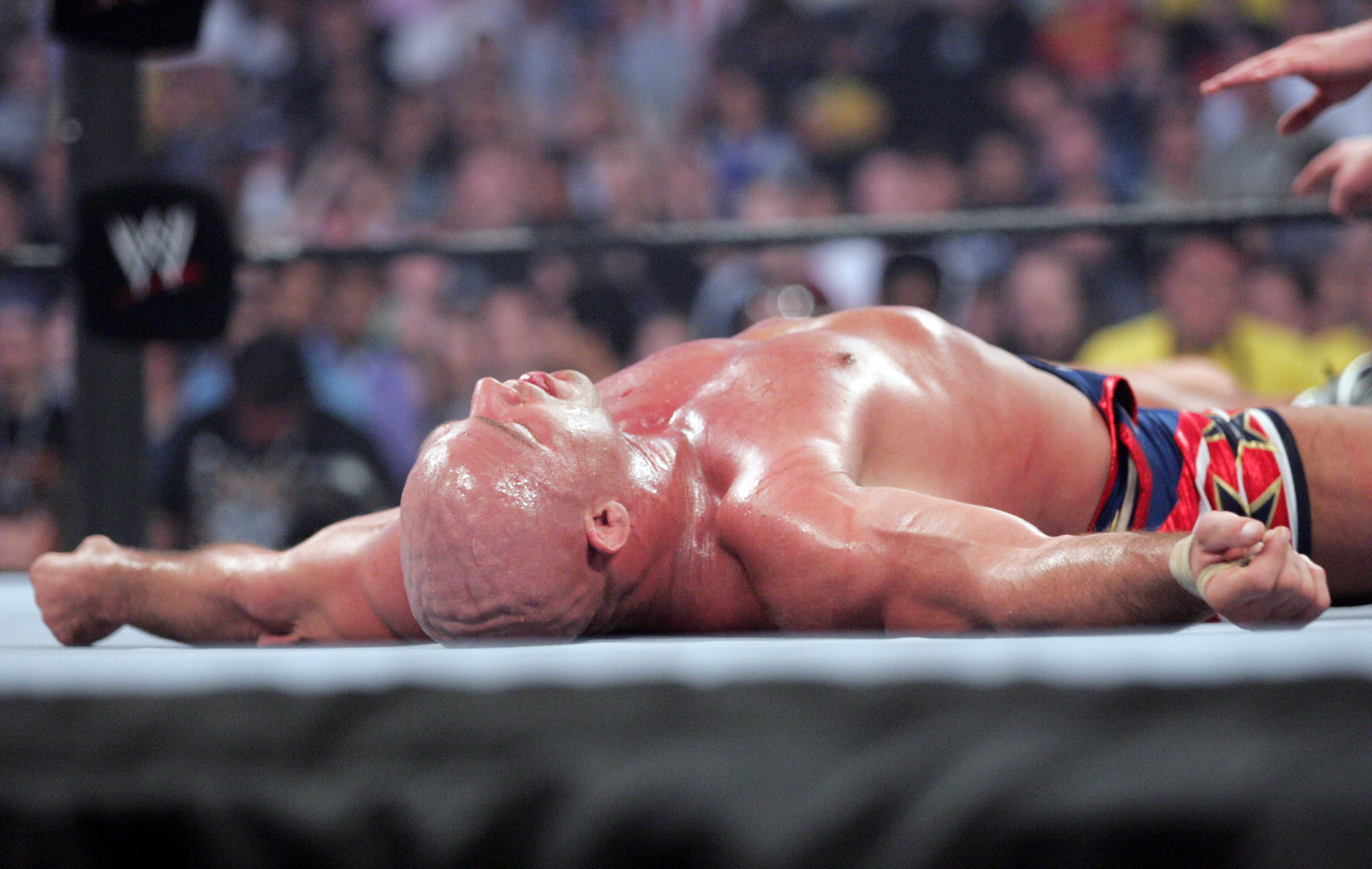 Kurt Angle v Shawn Michaels