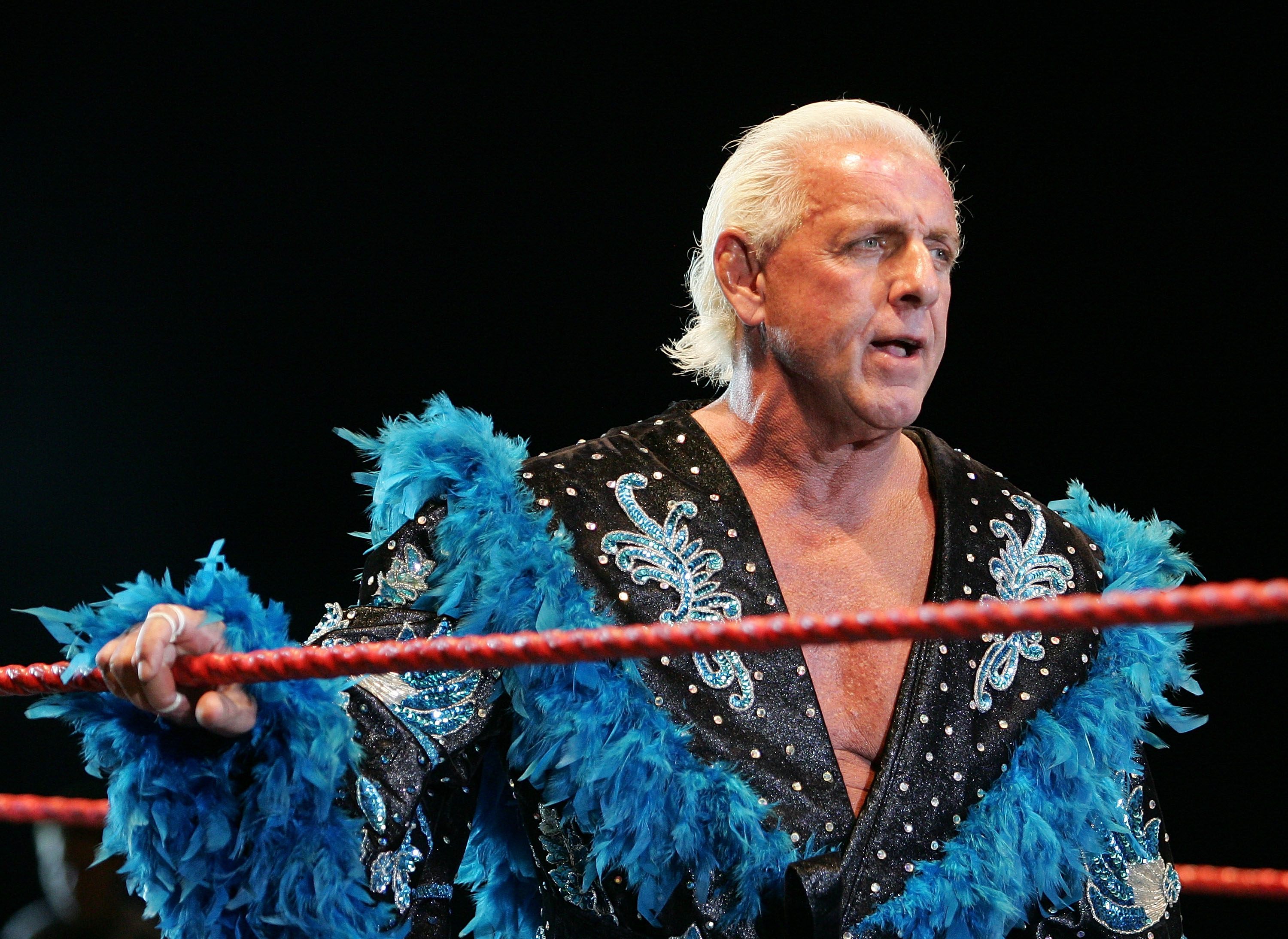 ric flair on coming to terms w being ill says he s had a few drinks