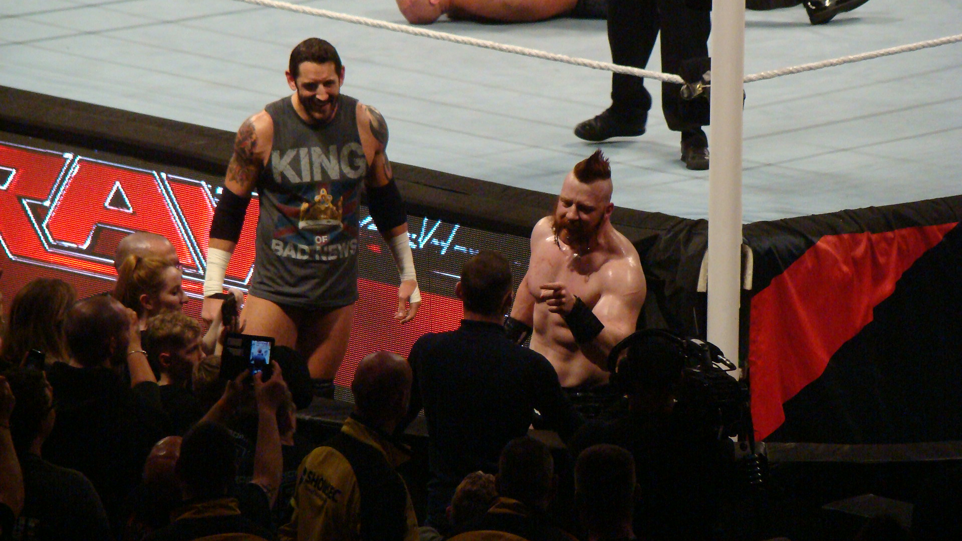 Sheamus and King Barrett